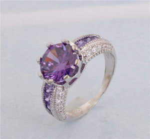 Free Jewelry - Trendy Violet Ring - Clever Clad