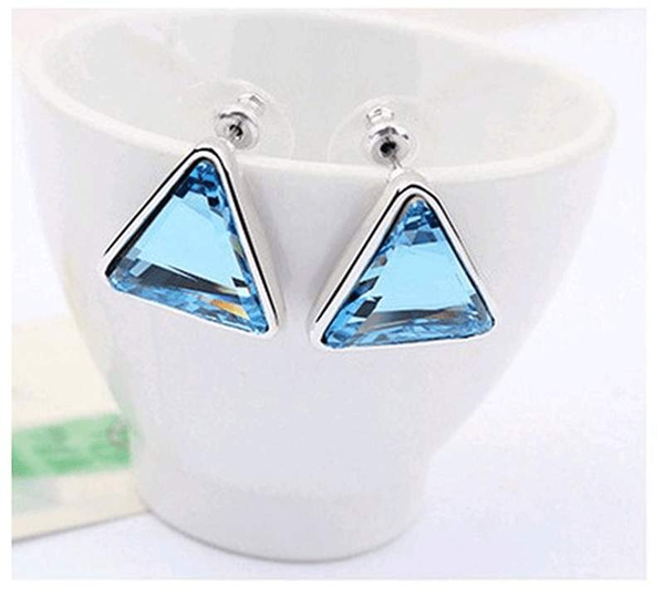 Free Jewelry - Triangle Necklace & Earrings Set - Clever Clad