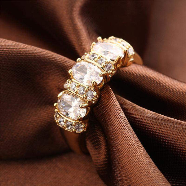 2018 Most Requested Luxury Zirconia Bridal Ring