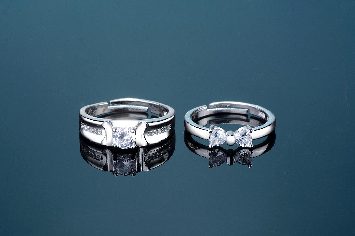 Korean Bow Wedding Ring