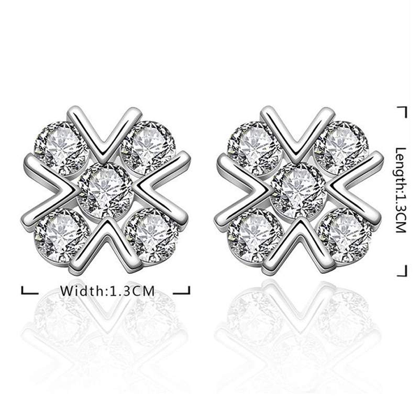 Free Jewelry - Cross Stud Earrings - Clever Clad