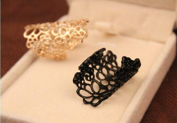 Free Jewelry - Lace Flower Ring - Clever Clad