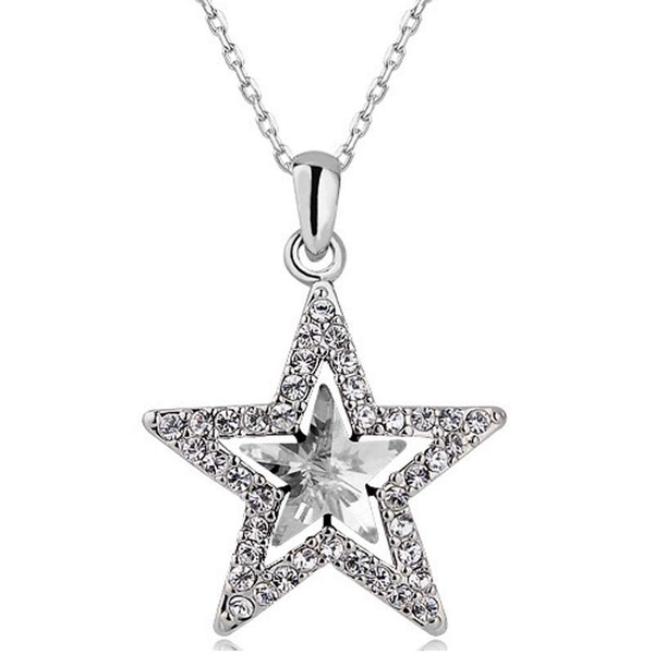Free Jewelry - Wishing Star Chain Necklace - Clever Clad