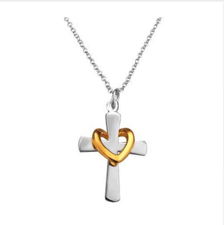 Free Jewelry - Beautiful Gold Heart Necklace - Clever Clad