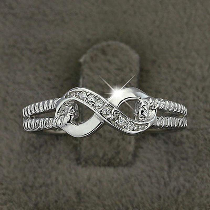 2018 Timeless Silver Infinity Ring