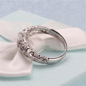 Love Lady Engagement Ring
