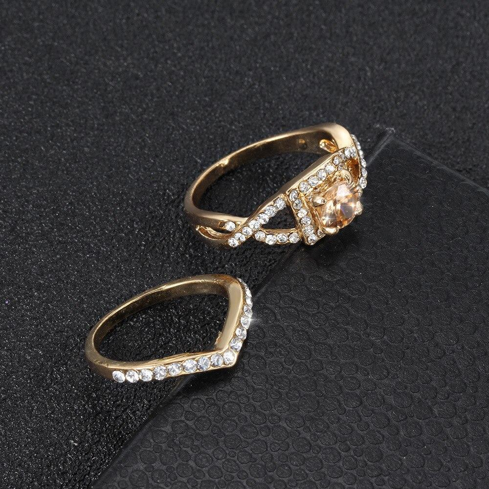 Two-piece Couple Gift Ring