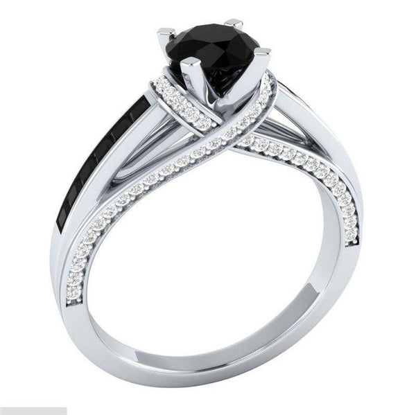 Classic AAA+ Zircon Classy Engagement Ring