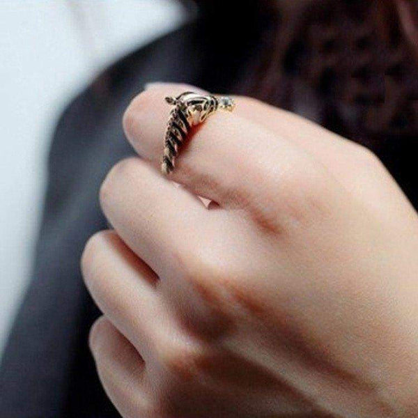 Zebra Adjustable Ring