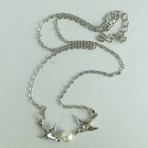 Free Jewelry - Couple Bird Short Necklace - Clever Clad