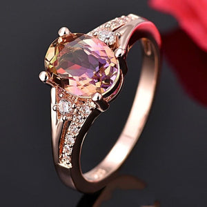 Beauty With Brain Bridal Ring