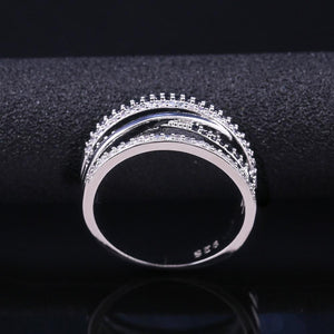 Micro Paved Twist Ring