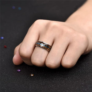 Classical Brushed Design Ring