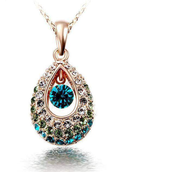 Free Jewelry - Water Drop Necklace - Clever Clad