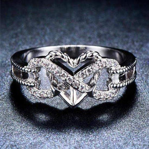 New Release! 2018 Heart Infinity Rope Ring