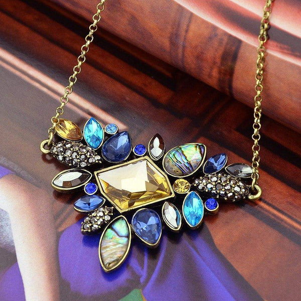 Free Jewelry -  Boho Flower Necklace - Clever Clad