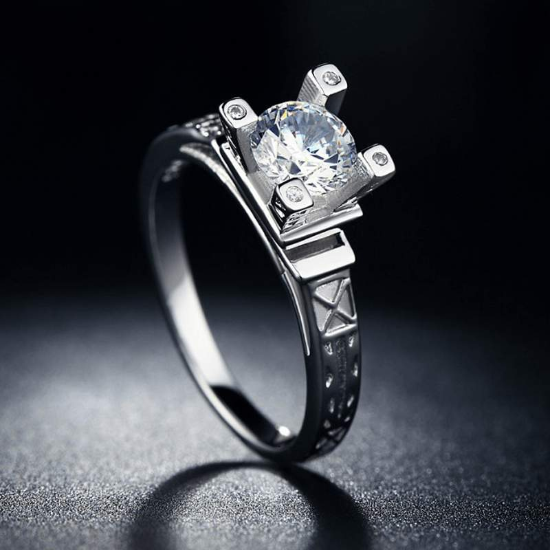Eiffel Tower Ring Clever Clad