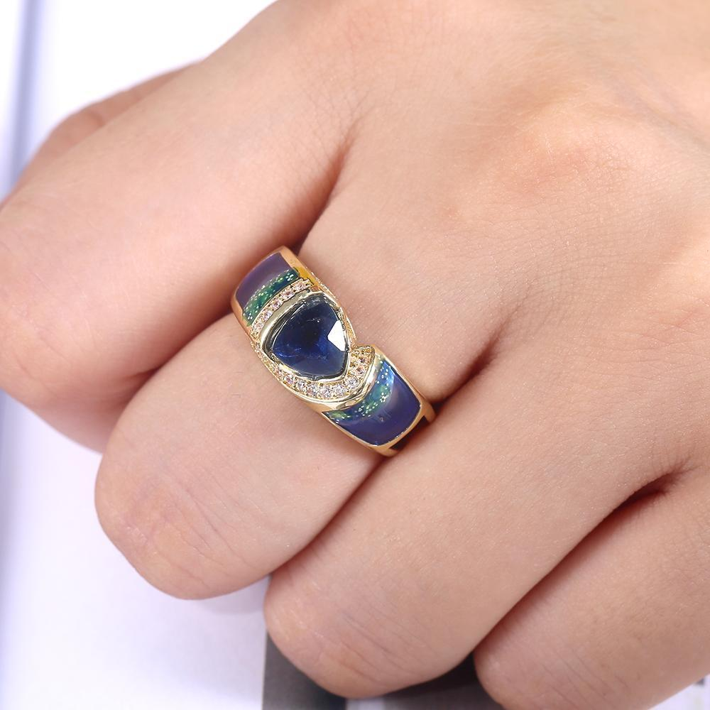 Classic Abstract  Ring
