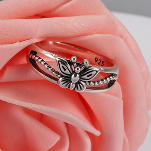Creative Design Butterfly Ring