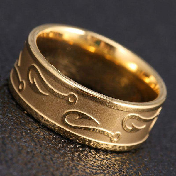 2018 Never Fade Stainless Steel Wedding Ring For Men And Women
