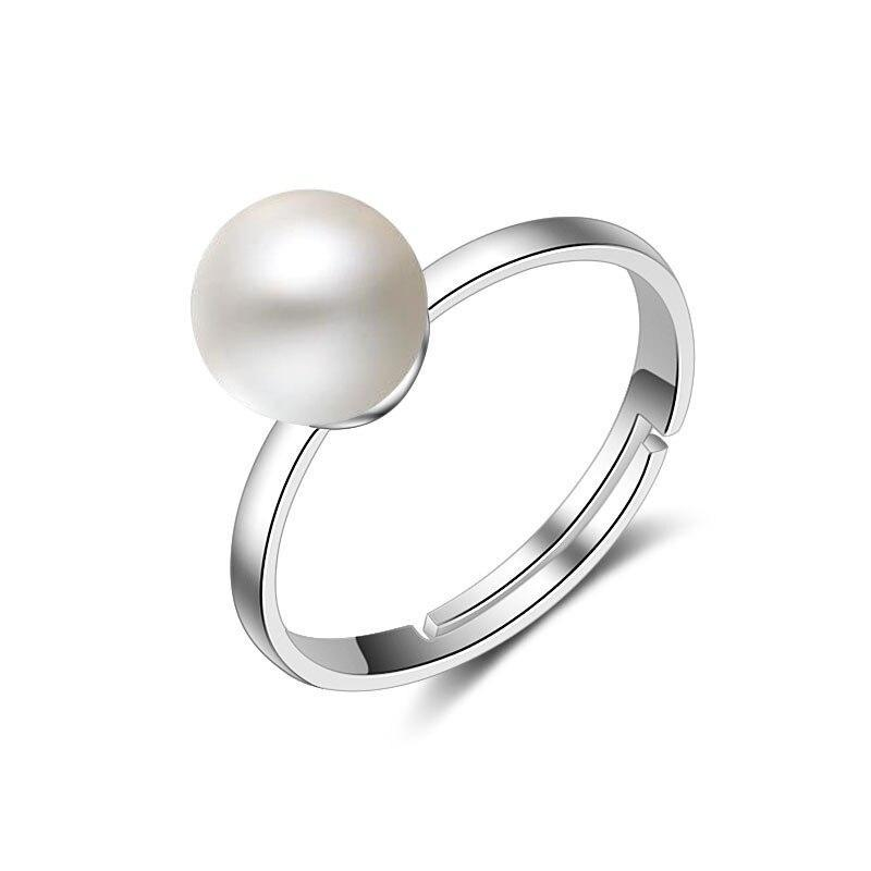 Freshwater Pearl Engagement Ring
