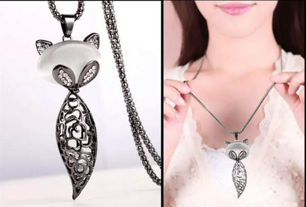 Free Jewelry - Trendy Fox Necklace - Clever Clad