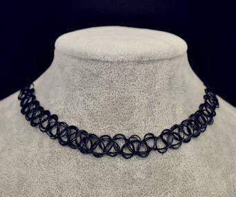 Free Jewelry -  Henna Elastic Necklace - Clever Clad
