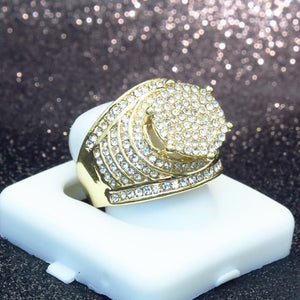 Micro Pave Full Bling Ring