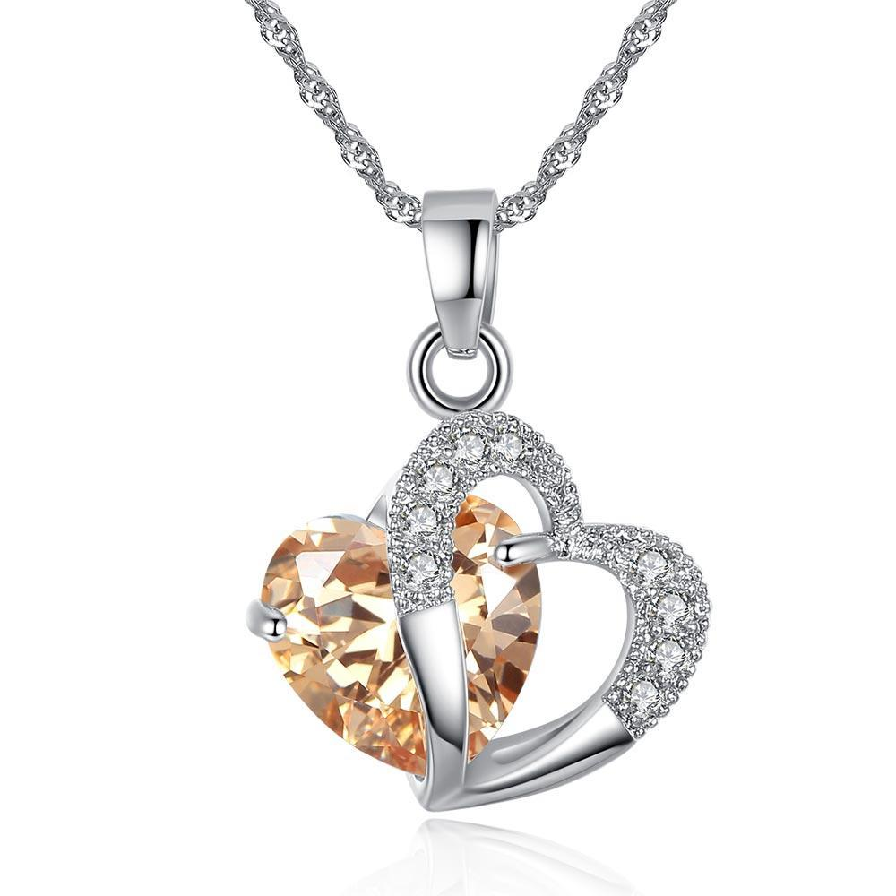 Love Heart Lady Necklace