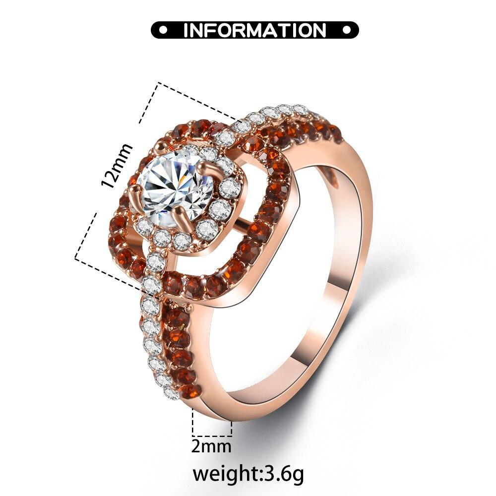 Colorful Creative Ladies Ring