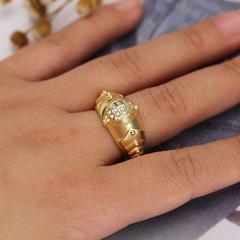 Geometric Mechanical Finger Ring