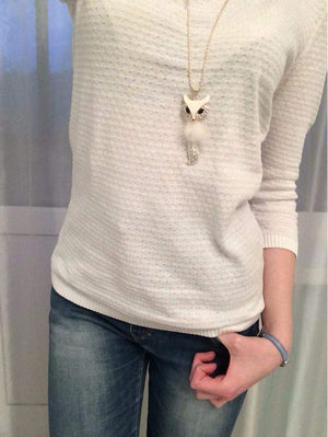 Free Jewelry - Fox Chain Necklace - Clever Clad