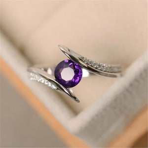 Korean Round Cubic Zirconia Ring