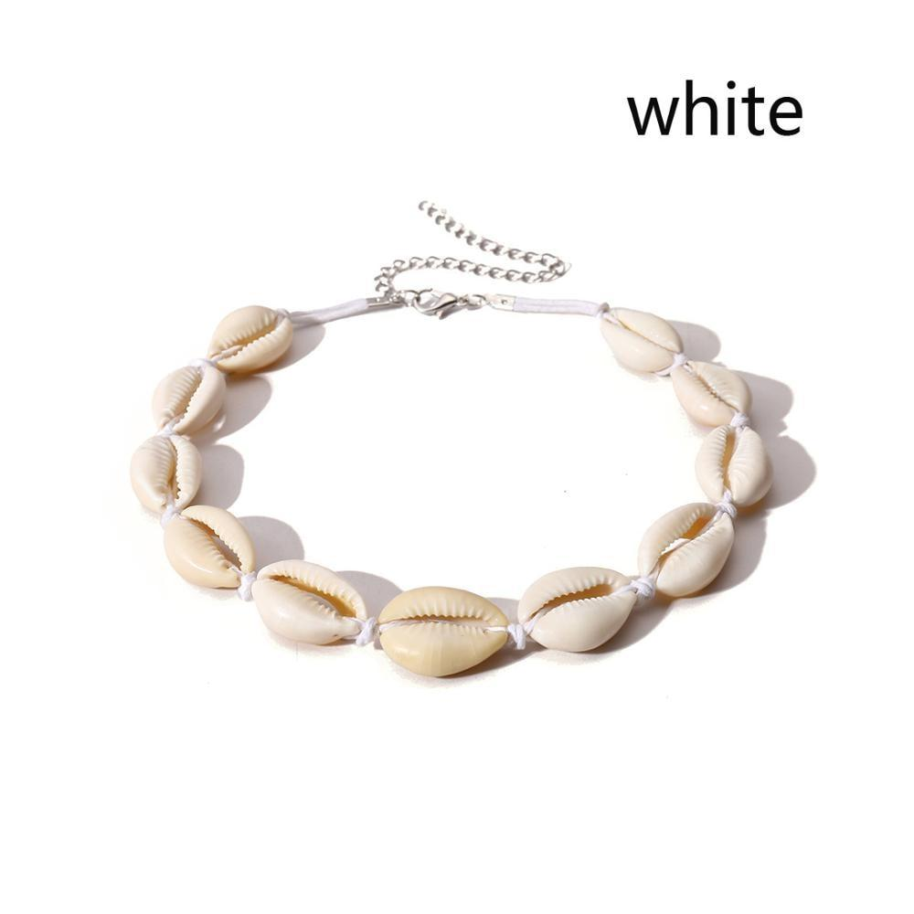 Natural Seashell Choker Necklace