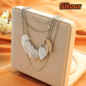 Free Jewelry - Stray Leaves Necklace - Clever Clad