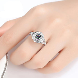 Love Promise Flower Ring