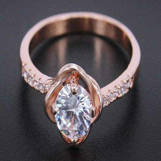2018 Sophisticated Rose Engagement Ring