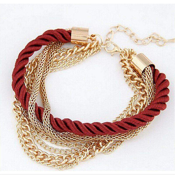 Free Jewelry - Rope Chain Bracelet - Clever Clad