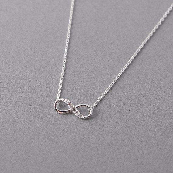 Top Selling Endless Love Infinity Necklace Band