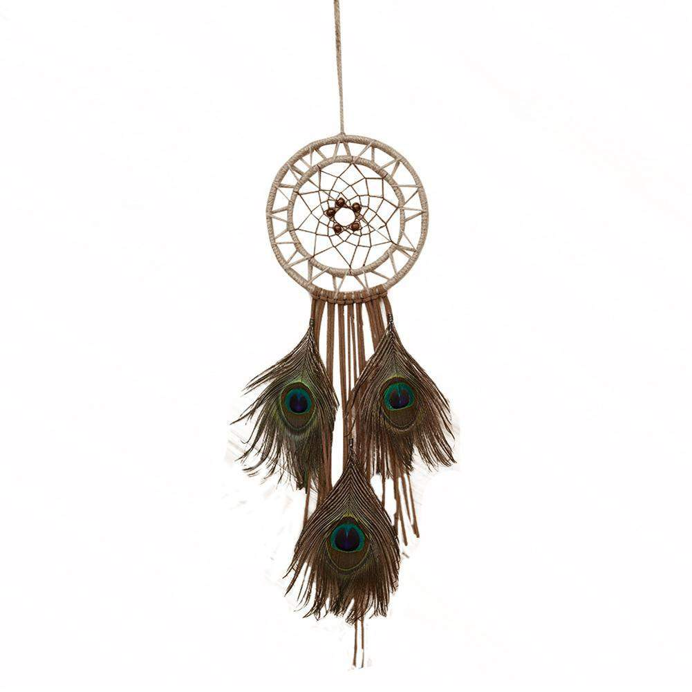 Hot Selling Indian Peacock Dream Catcher Wind Chimes