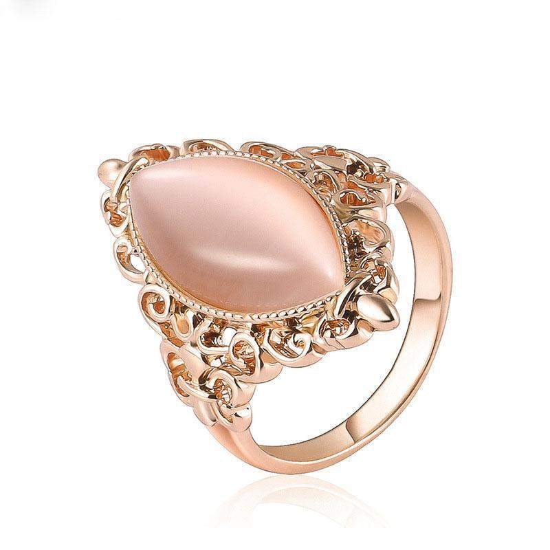 AAA+ Opal Bague Stone Classic Wedding Ring