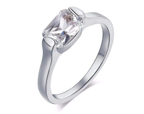 Best Selling Classic Cubic Crystal Wedding Ring