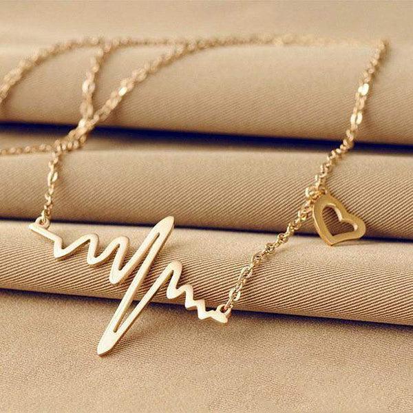 Most Requested Stylish Heartbeat Necklace