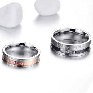 You Are My Only Love Wedding Ring Band