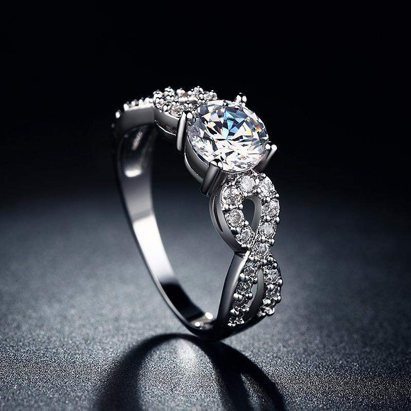 heart shipping watches today miadora diamond sterling accent free overstock infinity silver product ring jewelry double