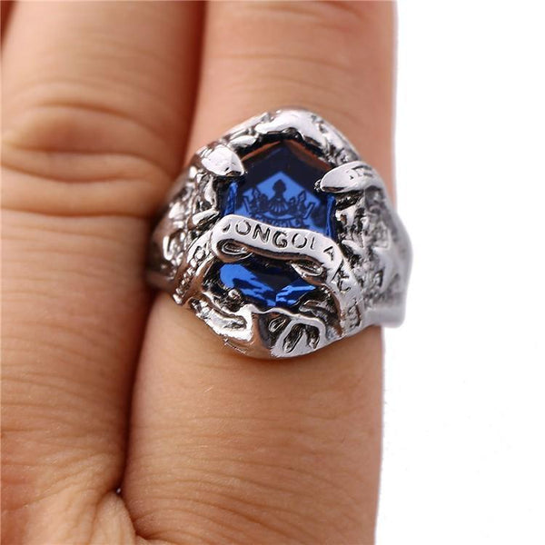 6 Colors Hitman Reborn Vongola Inlay Crystal Stone Zinc Alloy Rings