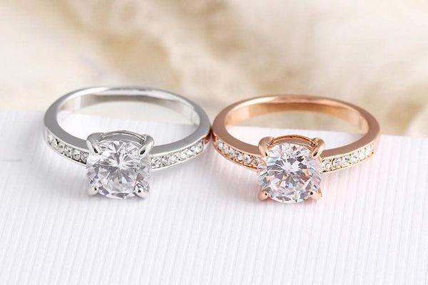 Best Selling Austrian Crystal Bridal Ring