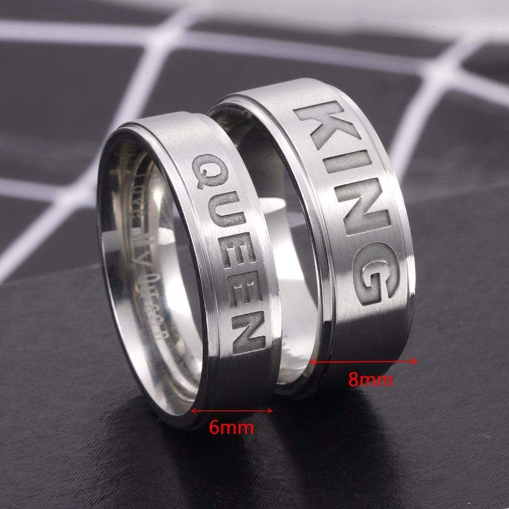Top Rated King And Queen Couple Ring