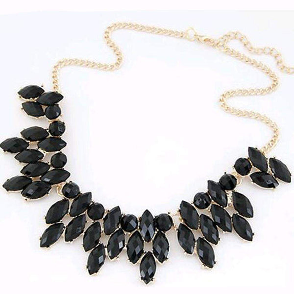 Elegant Gem Choker Necklace