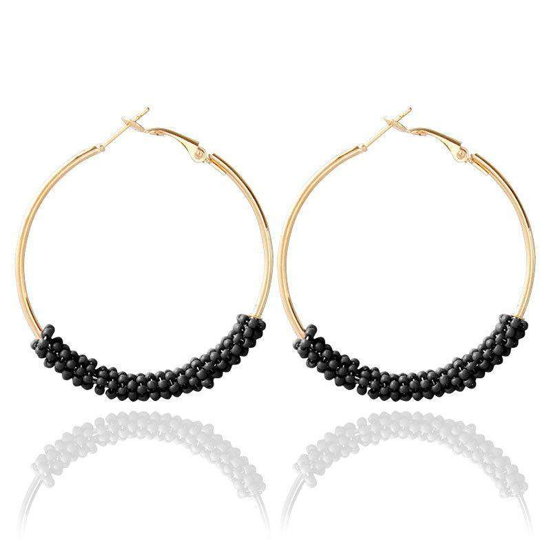 2018 Stylish Bohemian Hoop Earrings